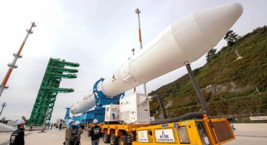 South Korea launches first domestic-made rocket