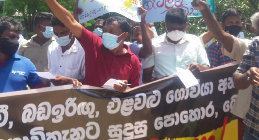 Farmers continue demands for fertilizer & refuse to call off protests