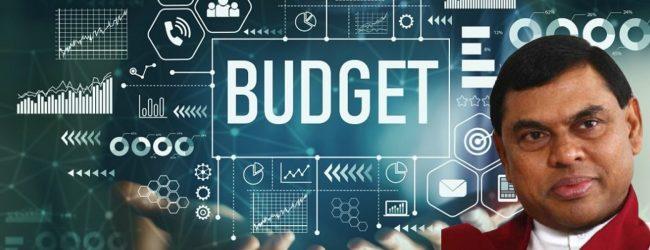 Finance Minister presents 2022 Appropriation Bill