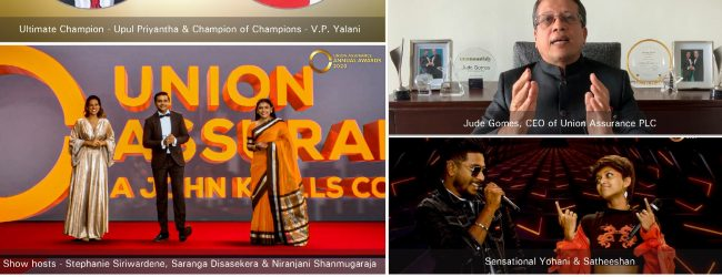 Union Assurance Celebrates Success of 2020 with a Glittering Virtual Annual Awards