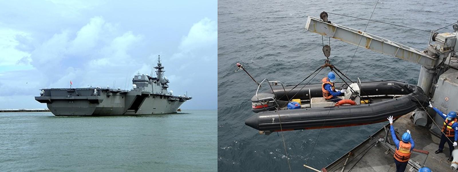 Japan – Sri Lanka Joint Naval Exercise 'JA –LAN EX' Concludes