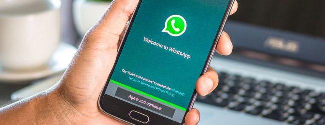 මුළු ලොවම බලන් සිටි WhatsApp වෙනස ගැන හදිස්සිගේ ගත් තීන්දුව මෙන්න..