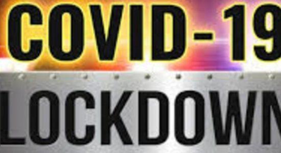 තව ත් ග්රාම නිලධාරි වසම් කිහිපයක් මේ මොහොතේ සිට Lockdown..