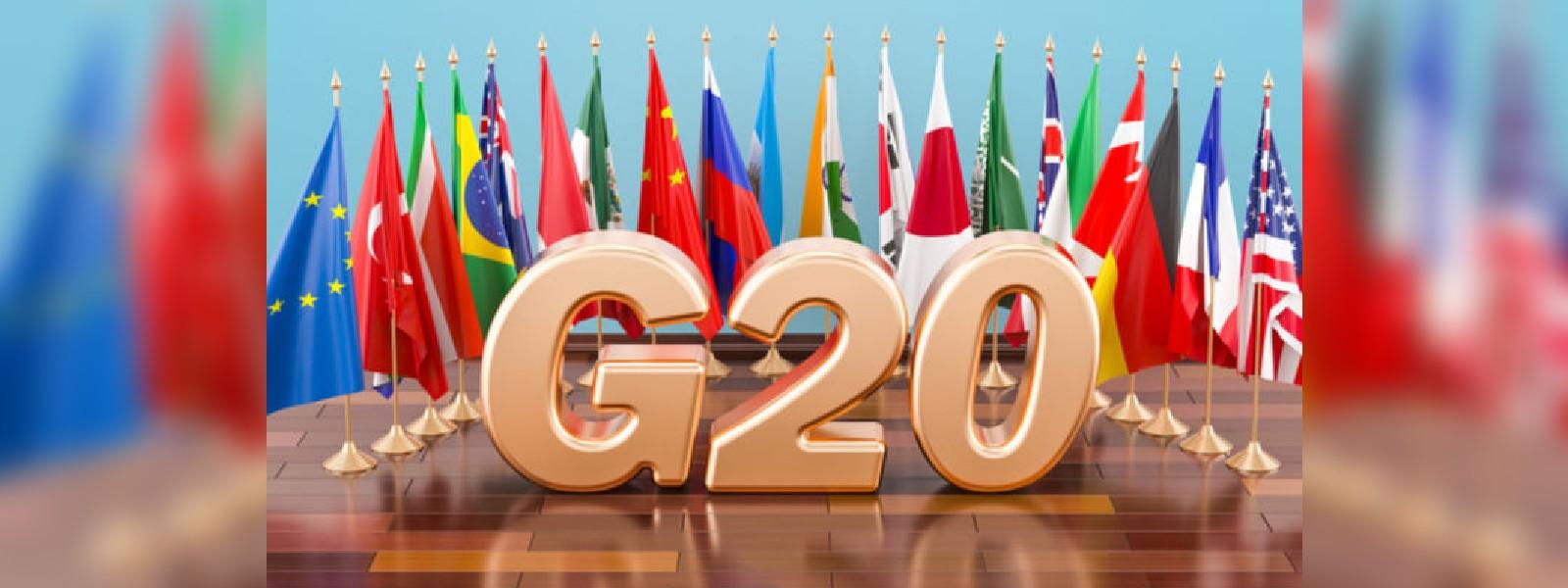 ලොවපුරා කොරෝනා එන්නත් සාධාරණ ලෙස බෙදාහැරීමට G20 රටවල් එකඟ වෙයි..