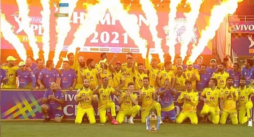 IPL ශූරතාවය සිව්වන වරටත් චෙන්නායි සුපර් කිංග්ස් දිනා ගනී..