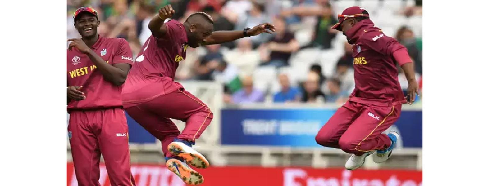 உலகக்கிண்ணம்: பாகிஸ்தானுக்கு எதிரான போட்டியில் மேற்கிந்தியத் தீவுகள் 7 விக்கெட்களால் வெற்றி