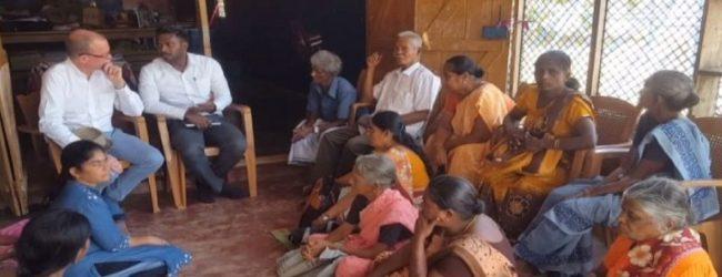 இலங்கைக்கான கனேடிய உயர்ஸ்தானிகர் கிளிநொச்சி விஜயம்