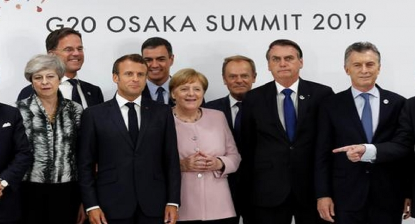 பருவநிலை மாற்றத்திற்கு எதிரான நடவடிக்கைகளை தொடர அமெரிக்கா தவிர்ந்த G20 நாடுகள் உறுதி
