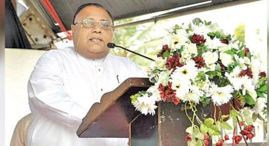 கிழக்கு மாகாண ஆளுநராக ஷான் விஜேலால் டி சில்வா பதவிப்பிரமாணம்