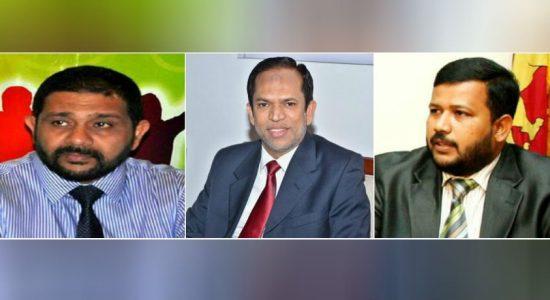 முன்னாள் ஆளுநர்கள் ஹிஸ்புல்லா, அசாத் சாலி, முன்னாள் அமைச்சர் ரிஷாட்டுக்கு எதிராக முறைப்பாடுகளை முன்வைப்பதற்கான இறுதித்தினம் இன்று