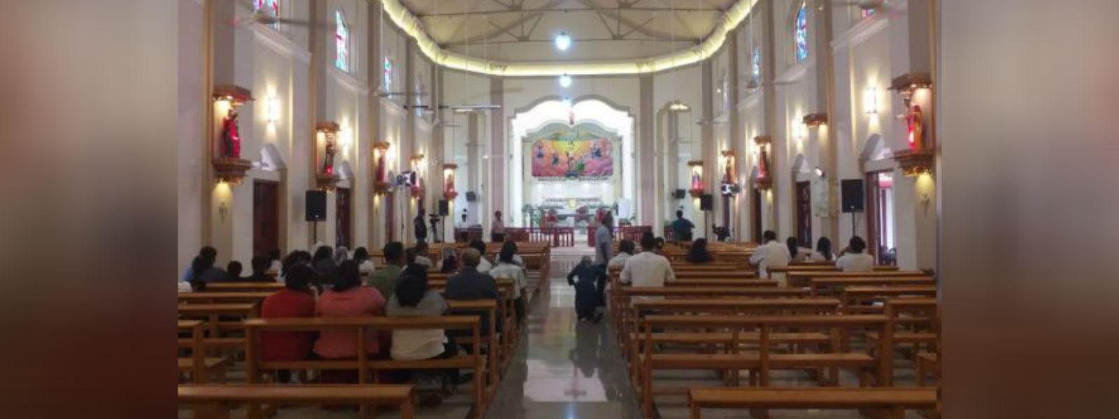 ஏப்ரல் 21 தாக்குதலின் பின்னர் கட்டுவாப்பிட்டி தேவாலயம் மீளத் திறப்பு