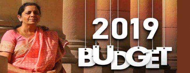 வரவு செலவுத் திட்டம் 2019: வருமான வரி உச்சவரம்பில் மாற்றமில்லை