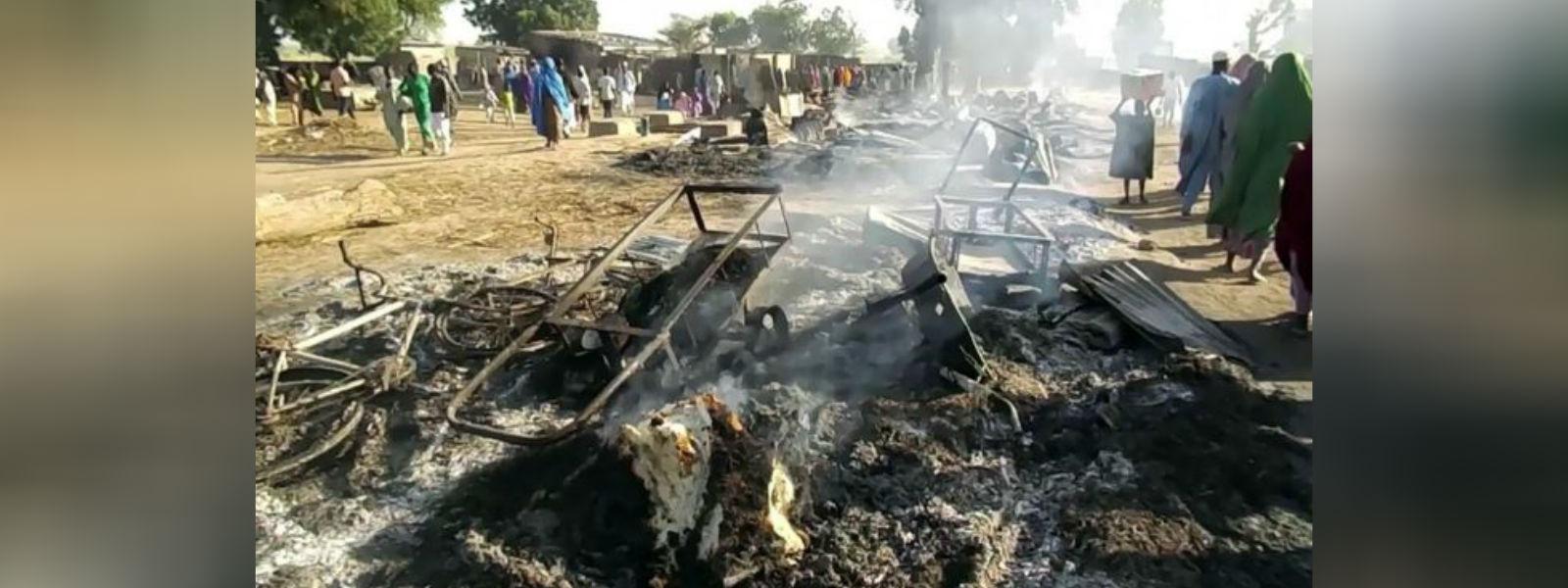 நைஜீரியாவில் போகோ ஹராம் தாக்குதல்; 65 பேர் உயிரிழப்பு