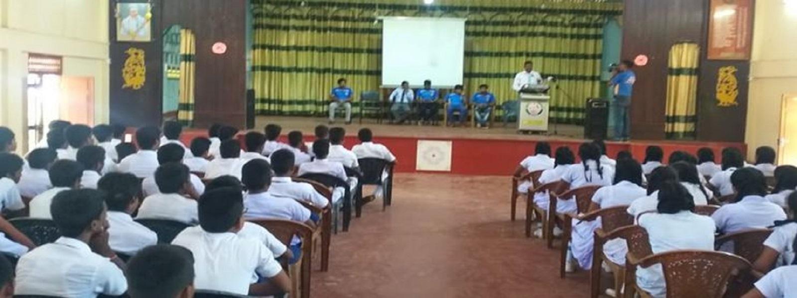 இரத்தினபுரி, யாழ்ப்பாணத்தில் இலட்சிய வரம் – 2019 செயற்றிட்டம்