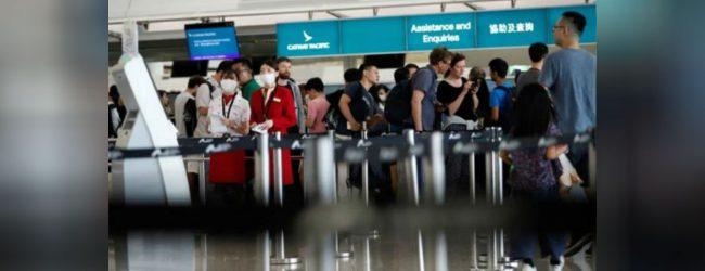 ஹொங்கொங் விமான நிலையம் மீண்டும் திறப்பு