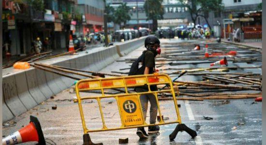 ஹொங்கொங் எதிர்ப்புப் போராட்டங்கள்; 36 பேர் கைது  