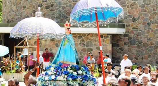 மடுமாதா திருத்தல ஆவணி உற்சவம் கொடியேற்றத்துடன் ஆரம்பம்