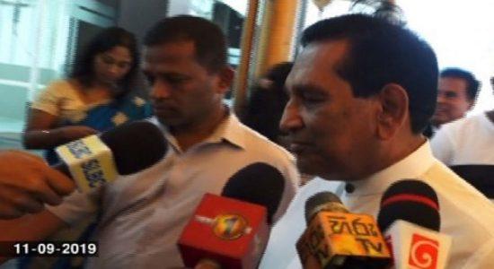 ராஜித சேனாரத்னவின் உத்தியோகப்பூர்வ இல்லத்தில் திடீர் சந்திப்பு