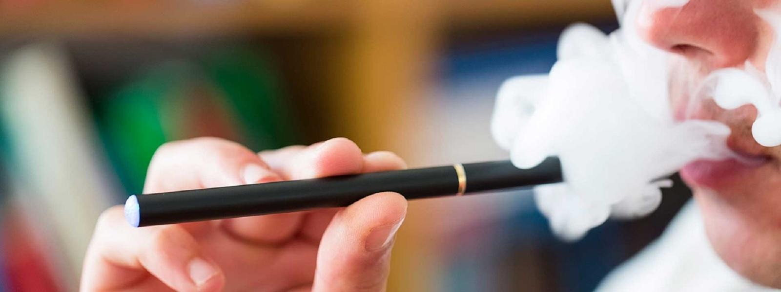 இந்தியாவில் e-cigarette-களுக்கு தடை