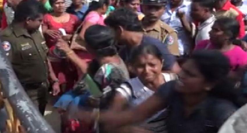 வட மாகாண சுகாதாரத் தொண்டர்களின் எதிர்ப்பினால் 454 பேரின் நியமனம் இடைநிறுத்தம்