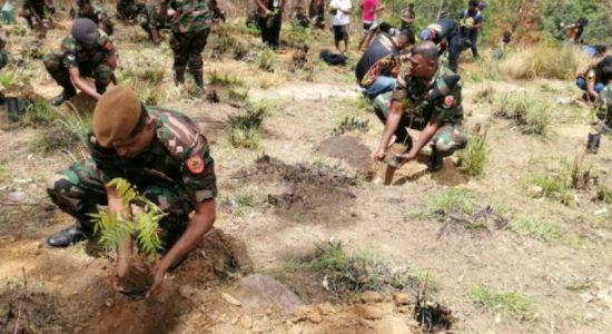 இயற்கை வளத்தை பாதுகாக்கும் V- Force செயற்றிட்டம் எல்ல மலைப்பகுதியில் இன்று