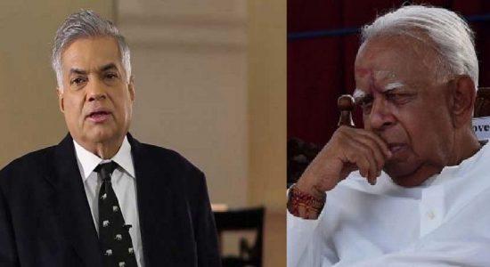 தமிழ் தேசியக் கூட்டமைப்பினருடன் பிரதமர் மீண்டும் பேச்சுவார்த்தை