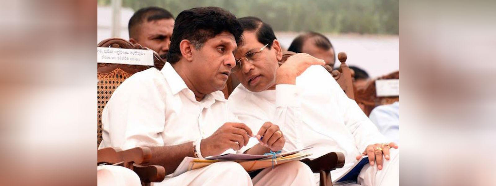 ஜனாதிபதி – அமைச்சர் சஜித் பிரேமதாச இடையே சந்திப்பு