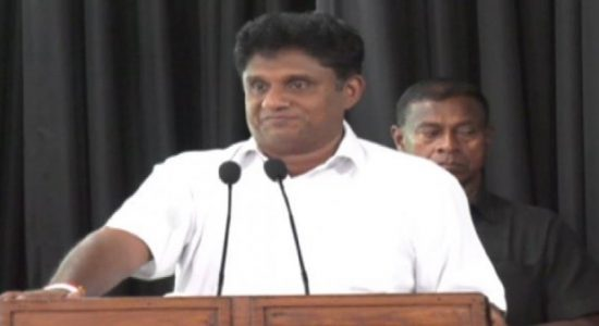 இராணுவ ஆட்சியா, சிநேகப்பூர்வ நாடா என மக்களே தீர்மானிக்க வேண்டும்: சஜித் பிரேமதாச