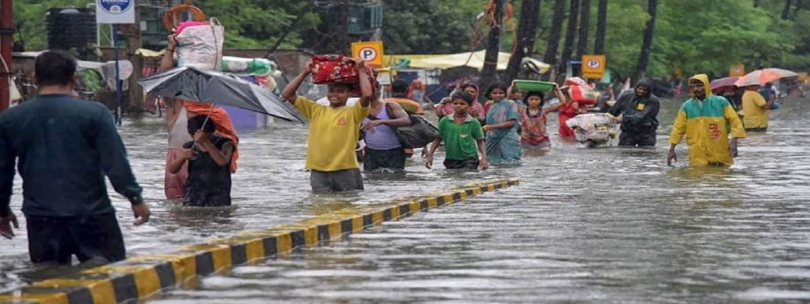 பீஹாரில் வௌ்ள அனர்த்தங்களால் 42 பேர் உயிரிழப்பு