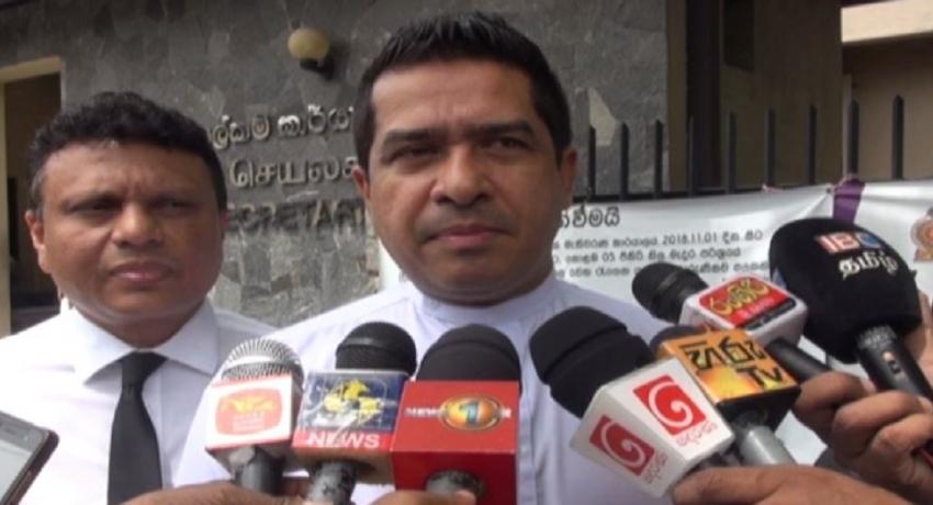 கோட்டாபய ராஜபக்ஸ வேட்பாளராக முன்நிற்பதை ஐக்கிய தேசியக் கட்சி தடுக்கவில்லை: சுஜீவ சேனசிங்க