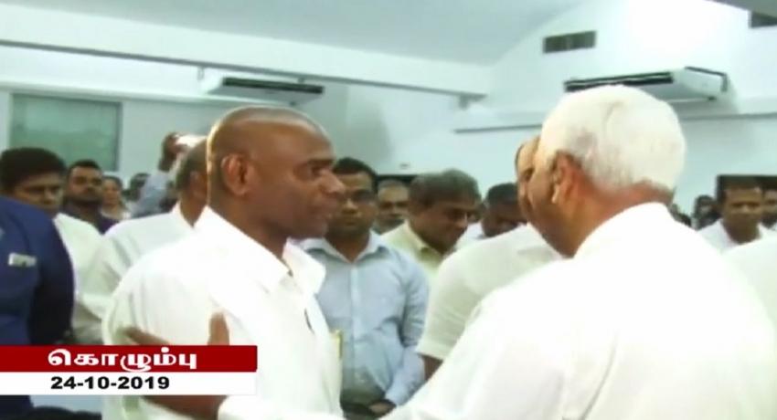 ஜனாதிபதி வேட்பாளர் மகேஷ் சேனாநாயக்கவின் தேர்தல் விஞ்ஞாபனம் வௌியீடு