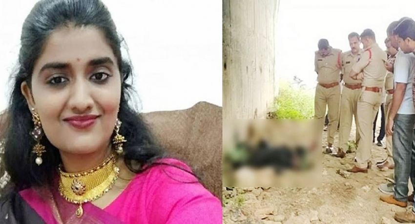 இந்தியாவில் பெண் மருத்துவர் பாலியல் துஷ்பிரயோகத்திற்கு உட்படுத்தி எரித்துக் கொலை: நால்வர் கைது