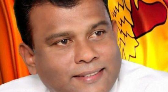 பாராளுமன்ற உறுப்பினர் ஷாந்த சிசிர குமாரவிற்கு விளக்கமறியல்