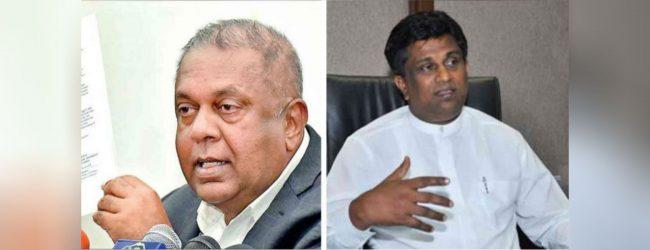 அமைச்சர்கள் மங்கள சமரவீர, அஜித் பி பெரேரா இராஜினாமா
