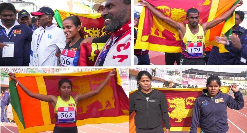 தெற்காசிய விளையாட்டு விழா: மெய்வல்லுநர் போட்டிகளில் இலங்கைக்கு 6 தங்கப்பதக்கங்கள்