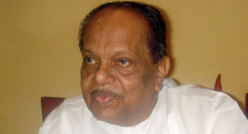 ஜனாதிபதிக்கு ஆனந்தசங்கரி கடிதம்