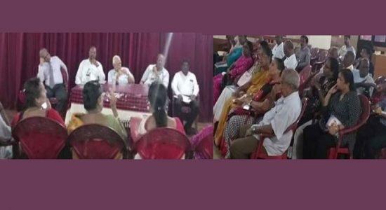 பொதுத்தேர்தலில் கொழும்பில் போட்டியிடுவது தொடர்பில் தமிழ் தேசியக் கூட்டமைப்பு ஆராய்வு