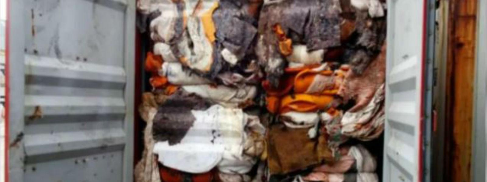 இலங்கைக்கு கழிவுக் கொள்கலன்களை அனுப்பிய நிறுவனத்திடம் இங்கிலாந்து அரசு விசாரணை