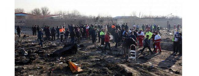 உக்ரைன் விமான விபத்தில் 176 பேர் பலி