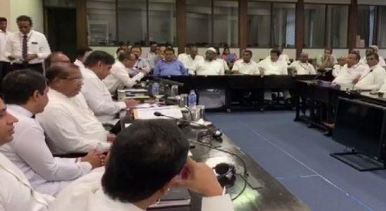 ஐக்கிய தேசியக் கட்சியின் தொகுதி அமைப்பாளர்களை சந்தித்தார் சஜித்