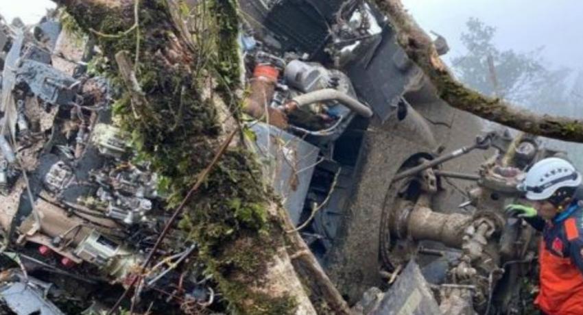 தாய்வானில் விமானப்படை ஹெலிகொப்டர் விபத்து: 8 பேர் உயிரிழப்பு