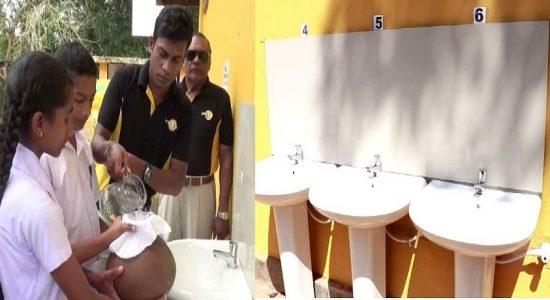 மக்கள் சக்தி: போப்பாகொட சுகீஸ்வர மகா வித்தியாலய மாணவர்களுக்கான குடிநீர் திட்டம் கையளிப்பு