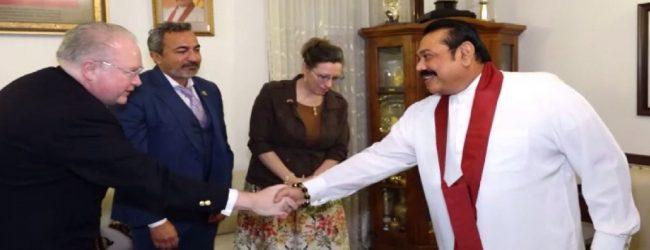 அமெரிக்க காங்கிரஸ் உறுப்பினர்கள் பிரதமரை சந்தித்தனர்