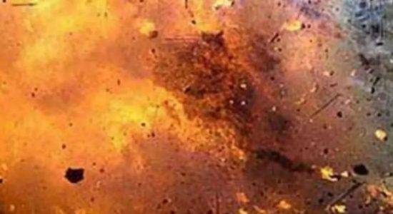 முல்லைத்தீவில் மோட்டார் குண்டு வெடித்ததில் இரும்பு வர்த்தகர் படுகாயம்