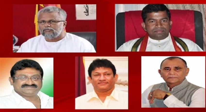 ஶ்ரீலங்கா சுதந்திர பொதுஜன கூட்டமைப்பில் ஐந்து சிறுபான்மைக் கட்சிகள் இணைவு
