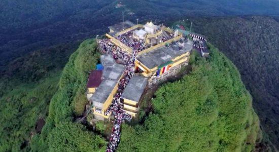போதைப்பொருளுடன் சிவனொளிபாதமலைக்கு சென்ற 213 பேர் கைது
