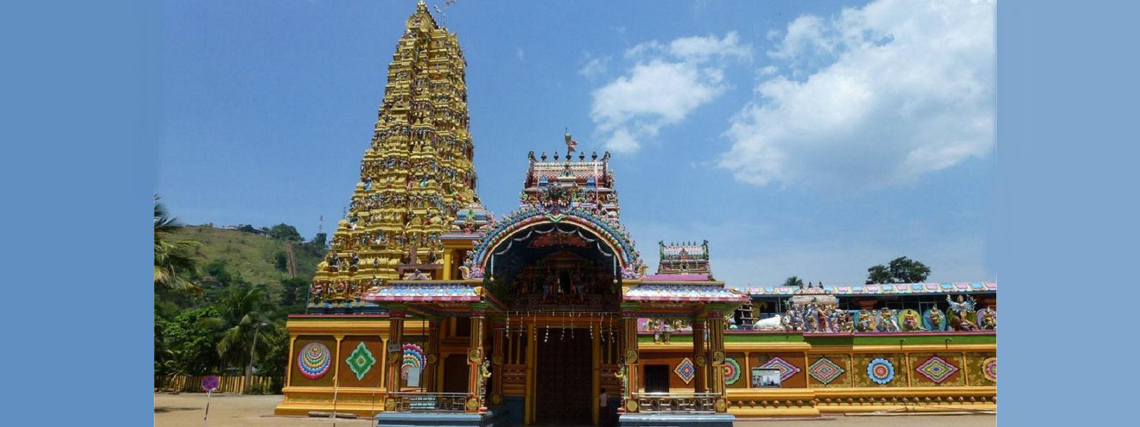 மாத்தளை ஶ்ரீ முத்துமாரியம்மன் ஆலய இரதோற்சவப் பெருவிழா இன்று