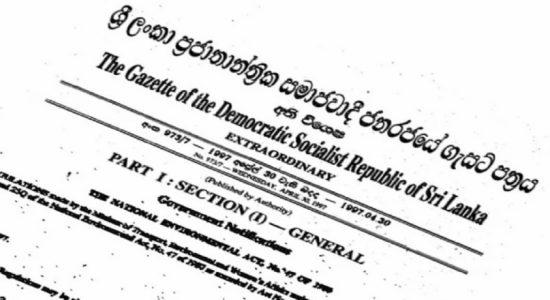 ஏப்ரல் 30 ஆம் திகதிக்கு பின்னர் பொதுத்தேர்தலுக்கான திகதி அறிவிக்கப்படும்: விசேட வர்த்தமானி வௌியீடு