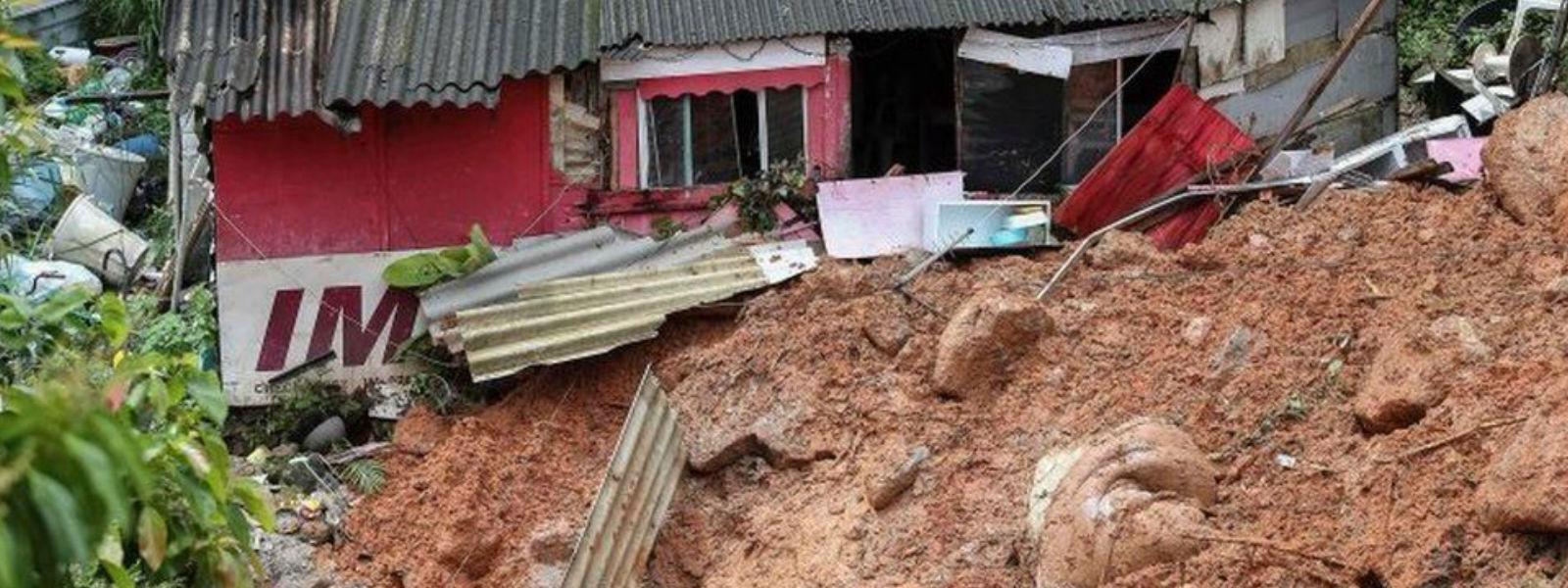 பிரேஸிலில் மழையுடன் கூடிய மண்சரிவு: 23 பேர் உயிரிழப்பு