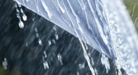 மழையுடனான வானிலை நீடிக்கும்: வளிமண்டலவியல் திணைக்களம் எதிர்வுகூறல்